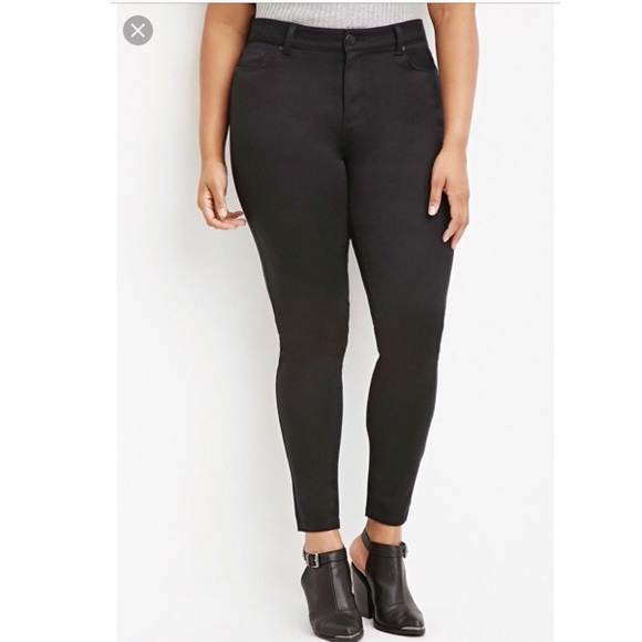 Forever 21 Jeans Black Pants Poshmark